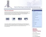 Bild Webseite Kanis Berlin