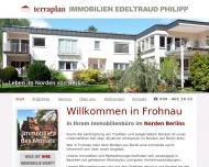 Bild Webseite terraplan Immobilien Edeltraud Philipp Berlin