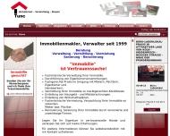 Bild Webseite Tunc Immobilien Köln