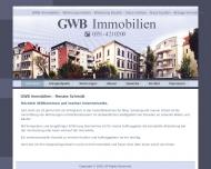 Bild Webseite GWB Immobilien Inh. Renate Schmidt Dresden