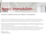 Bild Webseite Nesci Alessandro Immobilien München