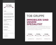 Bild Webseite TOB Technische Objekt-Betreuung von Immobilien Berlin