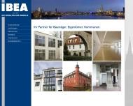 Bild Webseite IBEA Verwaltung  und Immobiliengesellschaft Köln