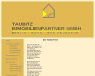 Bild Webseite Taubitz Immobilienpartner Berlin