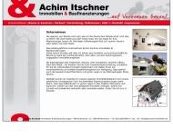 Bild Webseite Itschner Immobilien & Bauträger Mannheim