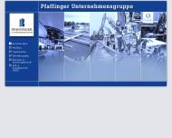 Bild Webseite Pfaffinger Passau
