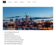 Bild Webseite CI Centrum Immobilien Frankfurt