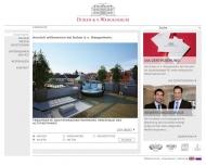 Bild Webseite Duken & von Wangenheim München