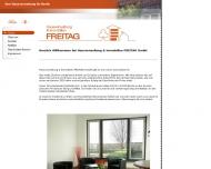 Bild Webseite Freitag Berlin