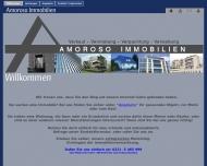 Bild Webseite Immobilien Amoroso Köln