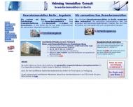 Bild Webseite Helmdag Immobilien Consult Berlin