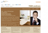 Bild Webseite ANDREES Immobilien & Auktions Hamburg