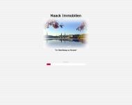 Bild Webseite Maack Immobilien Hamburg