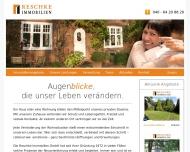Bild Webseite Reschke Immobilien Hamburg