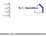 Bild Webseite R. C. Immobilien Osnabrück