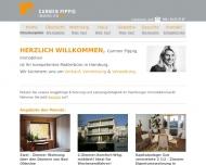 Bild Webseite C.P.M.Immobilien Carmen Pippig Hamburg