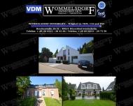 Bild Webseite Wommelsdorf Michael Immobilien Düsseldorf