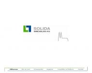 Bild Webseite SOLIDA Immobilien Kommanditgesellschaft Köln