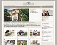 Bild Webseite Hilger & Hilger München