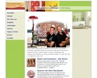 Bild Webseite Hubert Gerd Malereibetrieb Hamburg