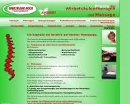 Bild Webseite Koch Christiane Heilpraktikerin Hamburg