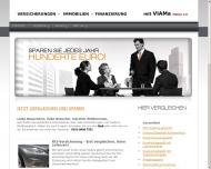 Bild Webseite VIAMA Makler eK Dresden