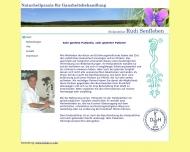 Bild Webseite Senfleben Rudi Heilpraktiker Hamburg