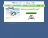 Bild Webseite asia point - Fachhandel für Akupunkturbedarf Hamburg