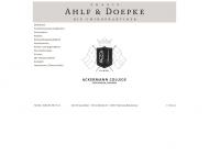 Bild Webseite Ahlf Denis Claus Heilpraktiker Hamburg