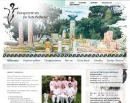 Bild Webseite Therapiezentrum für Naturheilkunde in Mannheim - Biologische ... Mannheim