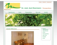 Bild Webseite Moormann Axel Dr.med. Internist NHV,Homeopathie,Akupunktur Hamburg