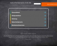 Bild Webseite Naturheilpraxis Telsche Schmidt Düsseldorf