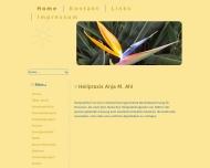 Bild Webseite Ahl Anja Heilpraktikerin Hamburg