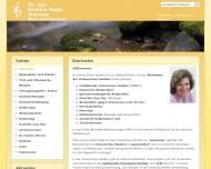 Bild Webseite Naturheilpraxis Dr. agr. Bettina Regh-Melcher Hamburg