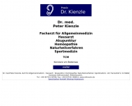 Bild Webseite Kienzle Peter Dr. med. Facharzt für Allgemeinmedizin Konstanz