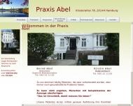 Bild Webseite Abel Bernd Heilpraktiker Hamburg