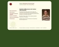 Website Grassinger Barbara Heilpraktikerin und Homöopathin