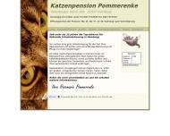 Website Katzenpension Pommerenke