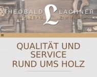 Bild Webseite Lachner Holzbau - Zimmerei Bergkirchen