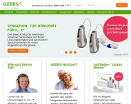 Bild GEERS Hörakustik AG & Co. KG Hörgeräte