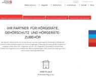 Website Köttgen Hörakustik