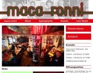 maca-ronni K?ln, Restaurant, Italiener, Live-Music, Events maca-ronni