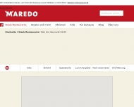 Website MAREDO Steakhouse Köln Am Heumarkt