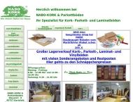 Bild Webseite NABO-KORK Vertriebs Karlsfeld