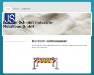 Bild Joachim Schmidt Industrie -Metallbau GmbH