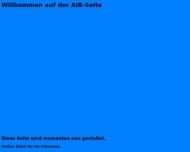 Bild Webseite AIB Ingenieurbüro für Anlagentechnik u. Ingenieurberatung Anlagen- u. Projektüberwachung Dresden