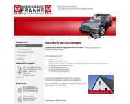 Bild Webseite Franke Ingenieurbüro Magdeburg