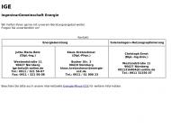 IGE-Energie - IngenieurGemeinschaft Energie