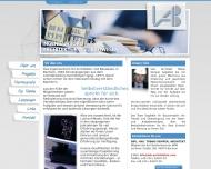 Website Ingenieurbüro für Architektur und Bauwesen IAB Kemper