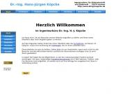 Bild Webseite Köpcke Dr.-Ing. Hans-Jürgen Aachen